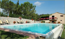 Hotel with swimming pool holiday in San Gimignano